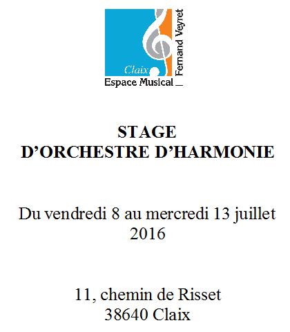 Stage Harmonie